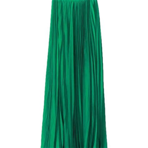 crown jewels pleated maxi skirt emerald from shop daily chic