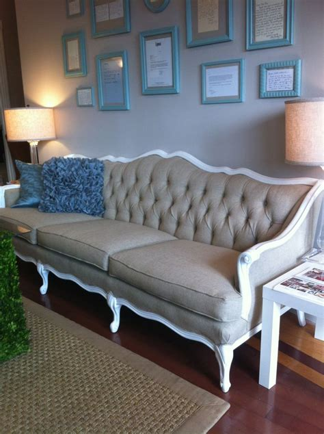 vintage couch reupholstered 17 best ideas about sofa reupholstery on pinterest