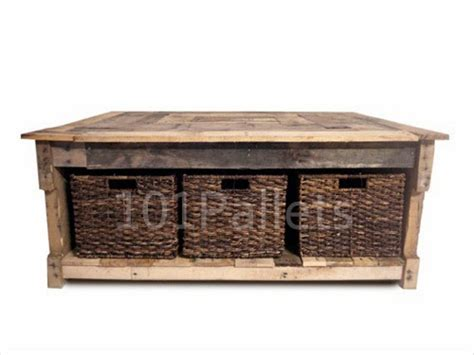 Multipurpose Coffee Table Multipurpose Reclaimed Pallet Coffee Table Pallet Furniture Plans