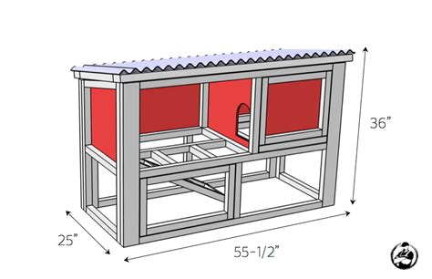rabbit hutch pattern diy rabbit hutch plans free easy rogue engineer