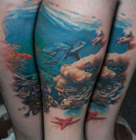 new tattoo under water an underwater scene 2 by allentattoo on deviantart