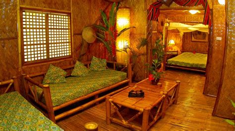 home design ideas native bamboo house in the philippines bahay kubo our native