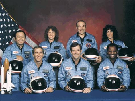 when did the space shuttle challenger up space today seven astronauts space shuttle