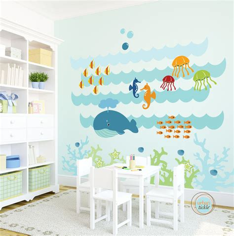 decorating kids room  interesting kids wall decals