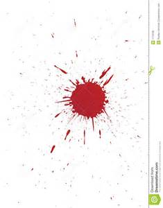 vector set of grunge blood spot for your design royalty