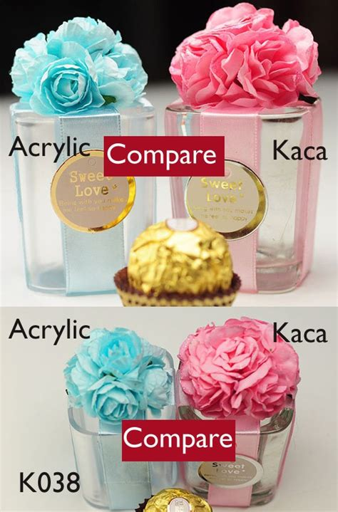 gelas kaca gaya eropah acrylic vs kaca