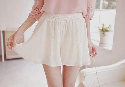 Skort Celana Pendek Korea White Lace 2 7 Y skort skirt