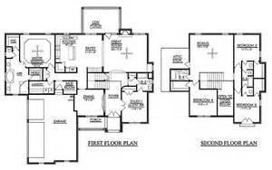 house plans 4 bedrooms 2 story arts 5 bedroom house plans design interior
