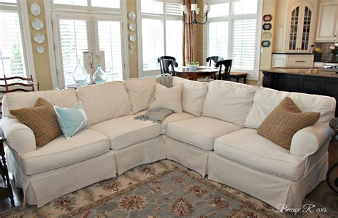 white slipcovered sectional sofa white slipcovered sectional sofa cleanupflorida com