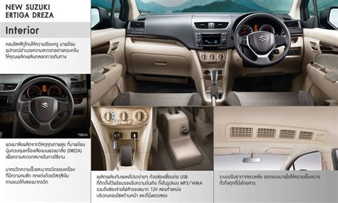 Dashboard Cover Suzuki Ertiga Aksesoris Interior 2016 suzuki ertiga dreza interior launched in thailand indian autos
