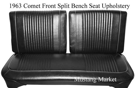 bench seat upholstery 1963 comet custom bench seat upholstery