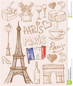 Superb Example Of Wedding Invitation #4: Vector-hand-drawn-paris-illustration-file-eps-format-36611319.jpg