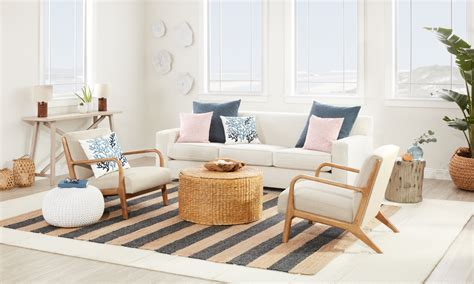 coastal living room decor beautiful coastal furniture decor ideas overstock