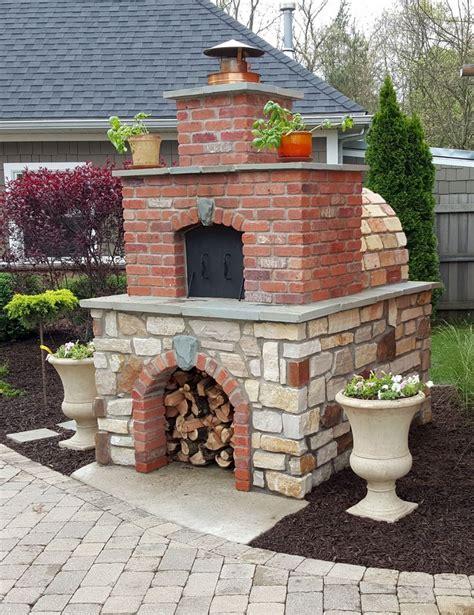 brick oven backyard best 25 brick oven outdoor ideas on pinterest