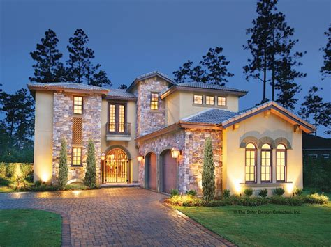 mediteranean homes eplans mediterranean house plan courtyard luxury 3031