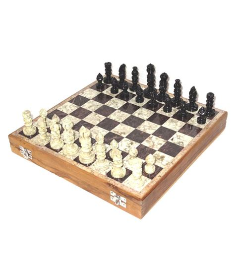 Handmade Chess Set - allamgallam handmade marble chess set 6 x 6 inch buy