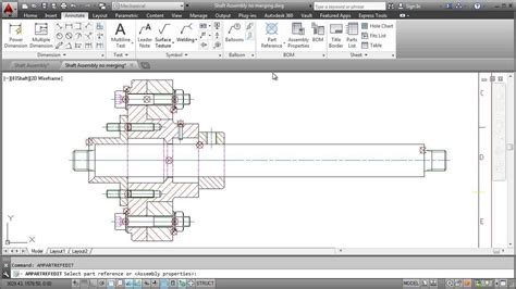 joint application design youtube autocad mechanical 2014 parts list youtube