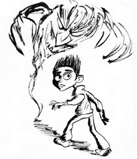 pug from paranorman paranorman coloring pages