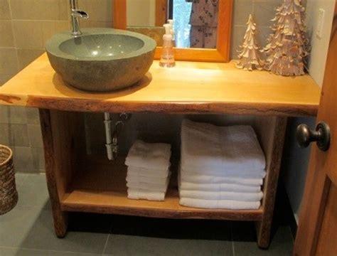 toronto live edge wood slab vanities countertops