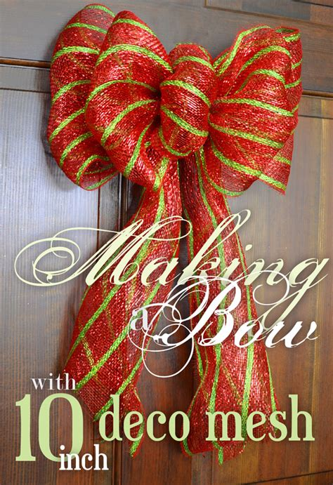 party ideas by mardi gras outlet making a bow with deco mesh