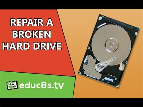 Repair Harddisk tutorial how to repair broken disk drive and recover
