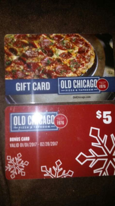 Chicago Gift Cards - letgo old chicago gift cards in rockford il