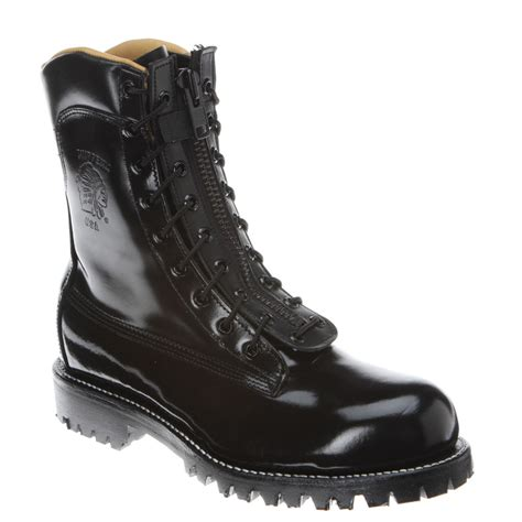 fireman boots chippewa 27422 8 inch fireman boot in black for lyst