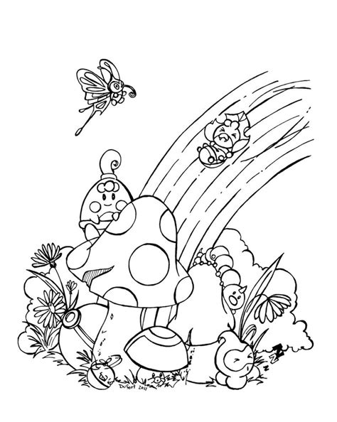 rainbow coloring page print free printable rainbow coloring pages for kids