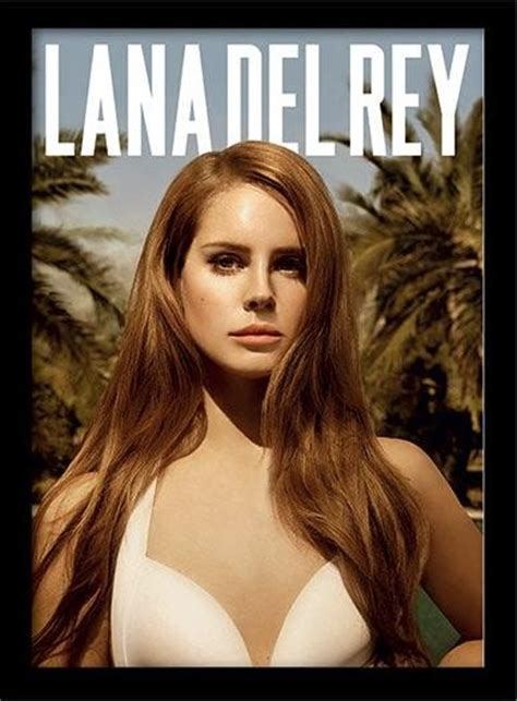 Plakat Lana Del Rey by Lana Del Rey Paradise Framed Poster Buy At Europosters