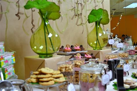 Baby Shower Refreshment Ideas by Pink Safari Baby Shower Project Nursery