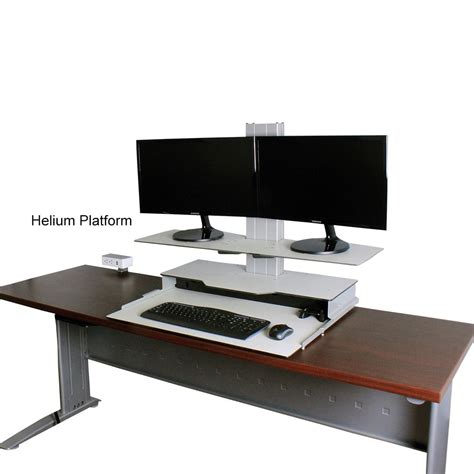 Standup Desk Converter by Helium Standing Desk Converter