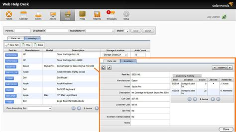 help desk billing software it help desk software service desk solarwinds