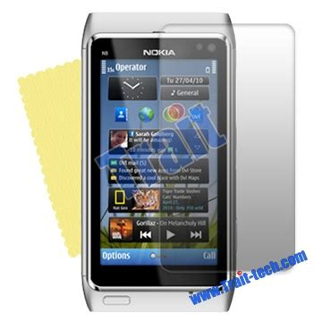 Anti Gores Nokia N8 Anti Glare new lcd screen protector shield guard for nokia n8