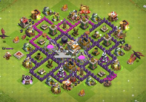 town hall 7 new base new updated farming layouts for town hall 7 with dark
