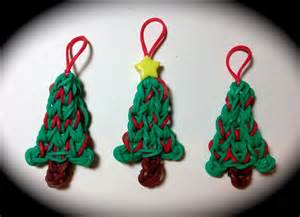 made by mommy s christmas tree charm on the rainbow loom