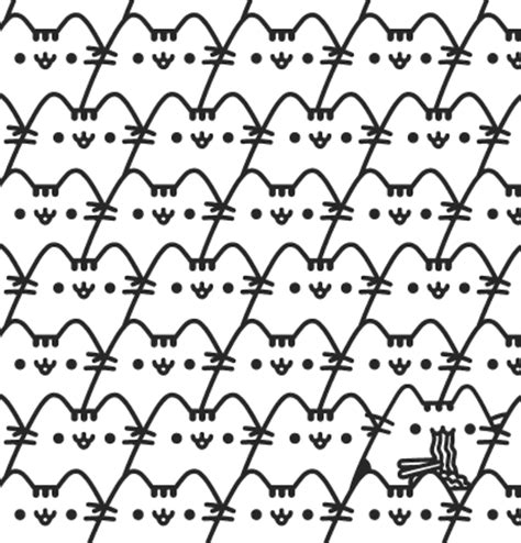 winter a grayscale coloring book books pusheen cat coloring book for adults and cat gifts