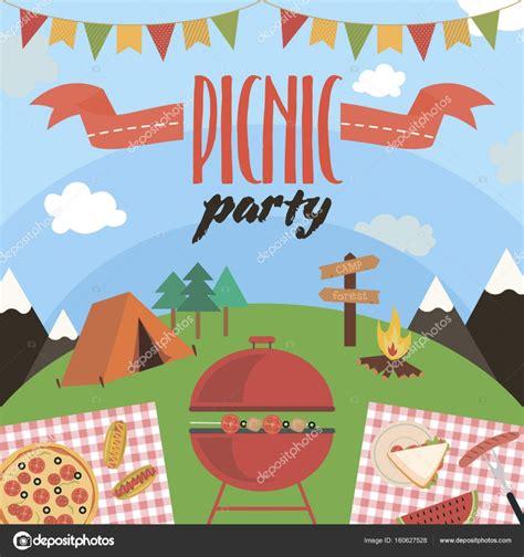 Picnic Invitation Card
