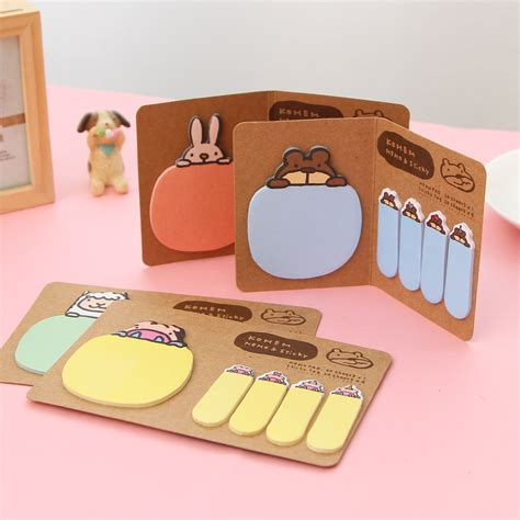 Post It Craft Paper - kawaii rabbit craft paper memo pad lovely