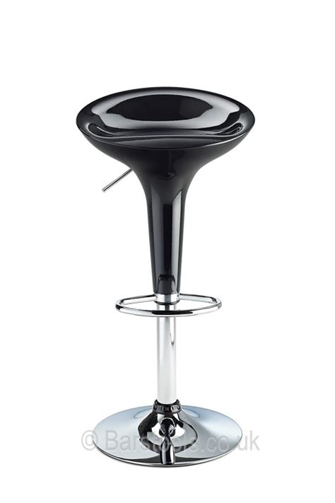 bombay bar stool black