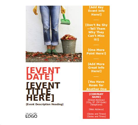 event flyer layout ideas free flyer templates for word clipart best