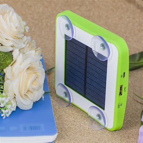 solar powered phone charger sticks to window solar powered window charger lifehack store