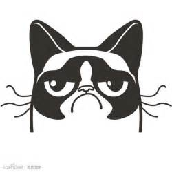 grumpy cat silhouette jack o lantern idea silly