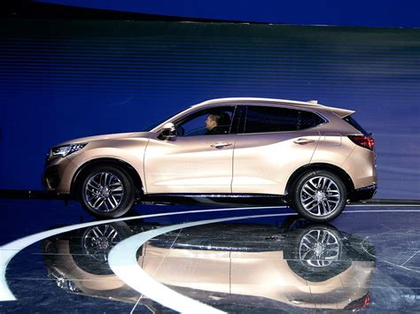 Acura Cdx by New Acura Cdx Compact Suv Makes Official Debut At Beijing