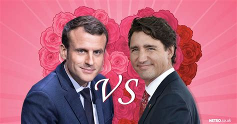 who is hotter justin trudeau or emmanuel macron the