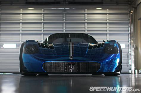 maserati mc12 blue blue thunder the maserati mc12 corsa speedhunters