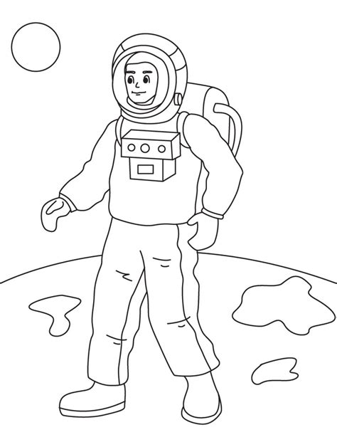 Free Printable Astronaut Coloring Pages For Kids Astronaut Coloring Pages