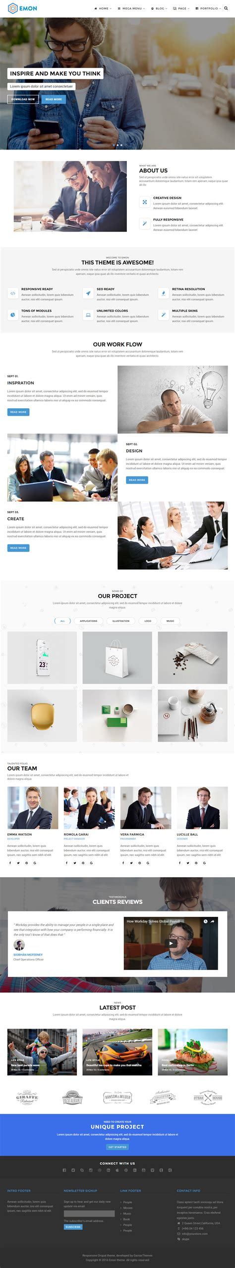 bootstrap themes free responsive 5 best drupal 8 bootstrap theme 2017 responsive miracle