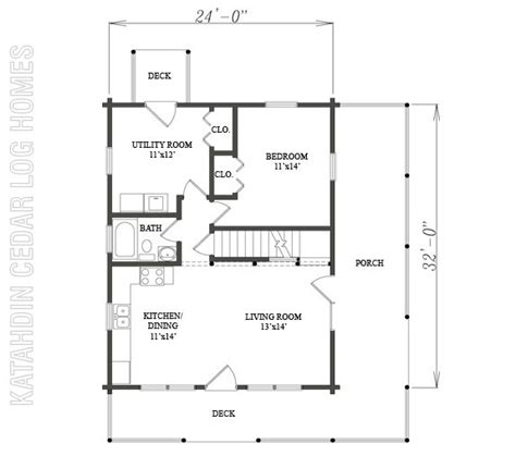 09972 katahdin cedar log homes floor plans