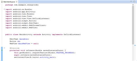 belajar membuat qr code reza fahlepi program android untuk membuat qr code