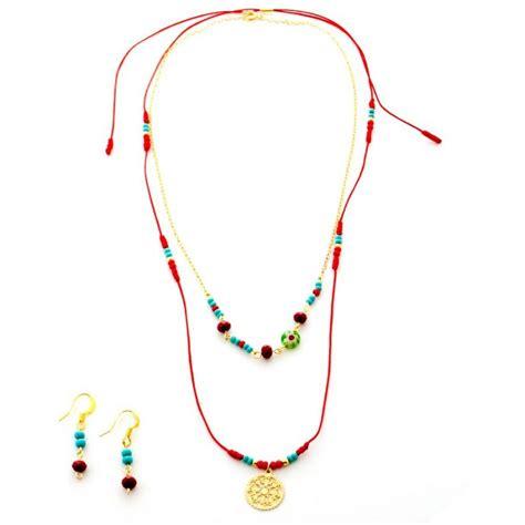cadenas de oro delgadas para mujer en bogota collar hilo rojo mandala cadena oro golfi collares